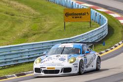 #18 Muehlner Motorsports America Porsche 911 GT America: Peter Ludwig, David Calvert-Jones, Patrick-