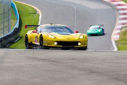 #4 Corvette Racing Chevrolet Corvette C6 ZR1: Oliver Gavin, Tommy Milner