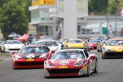 #28 Ferrari of Beverly Hills Ferrari 458: Jon Becker