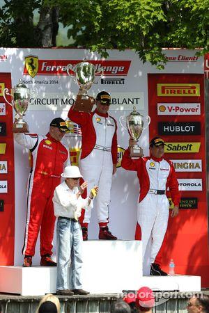 CS podium: winner Chris Ruud, second place Jon Becker, third place Carlos Conde