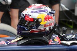 Il casco di Sebastien Buemi