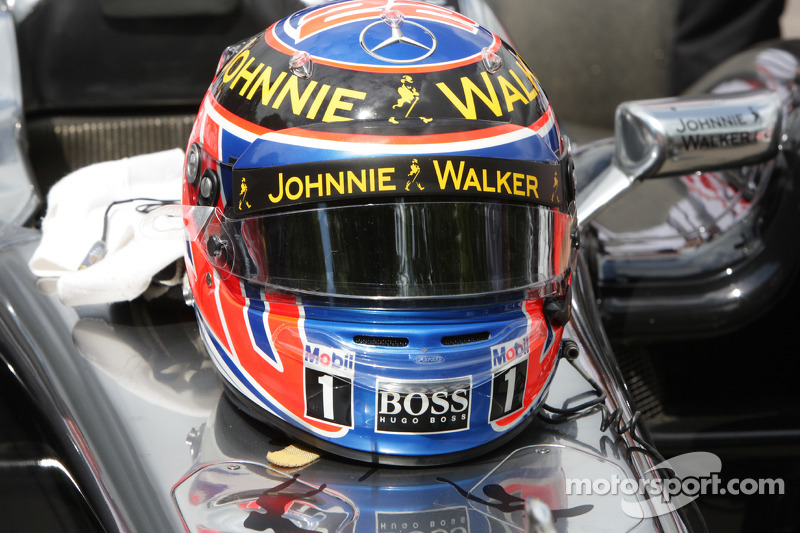 Jenson Button  's casco