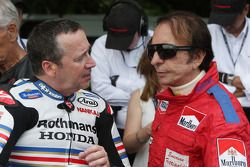 Freddie Spencer and Emerson Fittipaldi