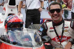 Emerson Fittipaldi e Max Papis