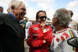 Sammy Miller, Emerson fittipaldi et Giacomo Agostini