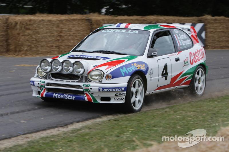Didier Auriol im Toyota Corolla WRC