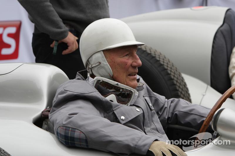 Стирлинг Мосс на Фестивале скорости в Гудвуде, 2014 год