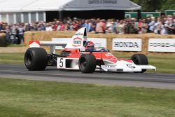McLaren Cosworth M23 - Emerson Fittipaldi