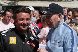 Rene Arnoux et John Surtees