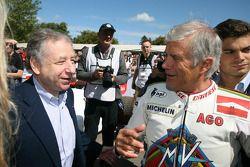 Jean Todt and Giacomo Agostini