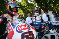 Jonathan Rea and Freddie Spencer