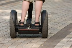 Segway experiences at Silverstone