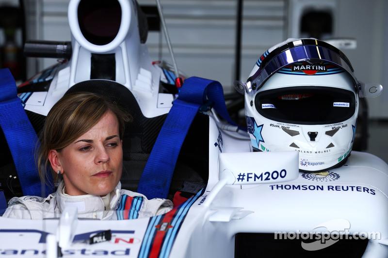Susie Wolff, Entwicklungsfahrerin, Williams FW36