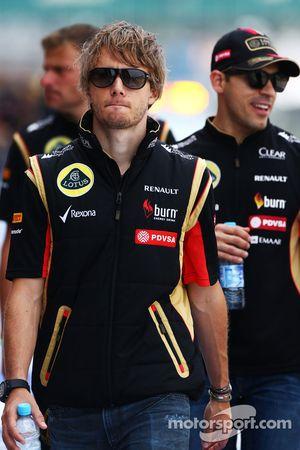 Charles Pic, Testfahrer, Lotus F1