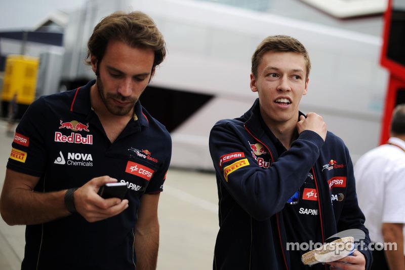2014 год: с Жаном-Эриком Вернем в четверг перед Гран При