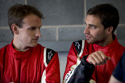 Antonio Garcia and Jérôme d'Ambrosio, China Racing