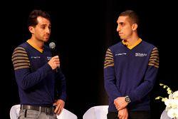Nicolas Prost en Sebastien Buemi, e.dams-Renault