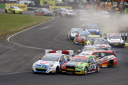 Jason Plato en Rob Collard