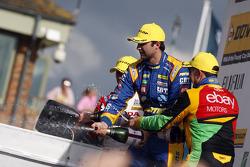 Andrew Jordan, Pirtek Racing, heureux sur le podium
