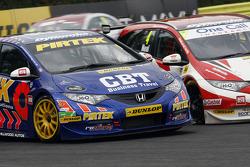 Andrew Jordan, Pirtek Racing en Matt Neal, Honda Yuasa Racing