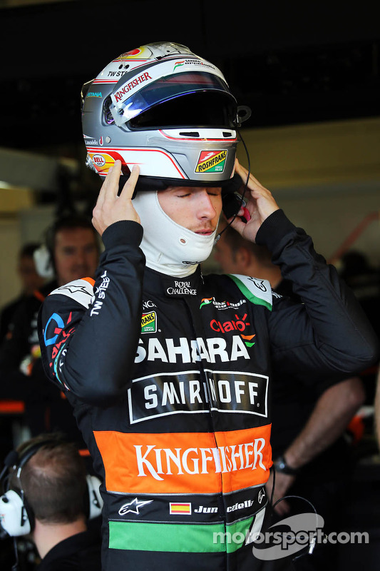 Daniel Juncadella, Testfahrer, Sahara Force India F1 Team