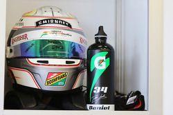 kask: Daniel Juncadella, Sahara Force India F1 Takımı Test ve Yedek Pilotu