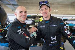 Lee Holdsworth and Will Davison