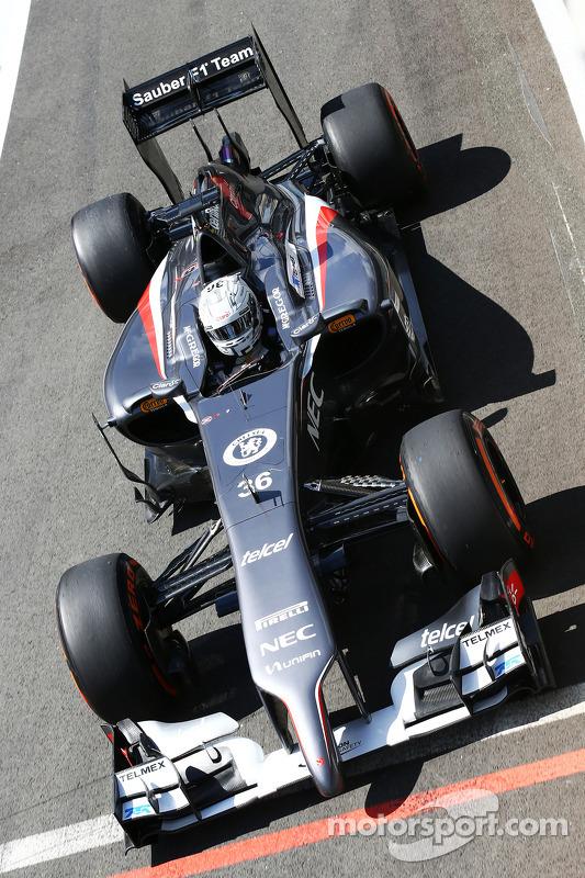 Giedo van der Garde, Sauber C33