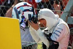 Susie Wolff, Williams Geliştirme Pilotu pistte duruyor during FP1