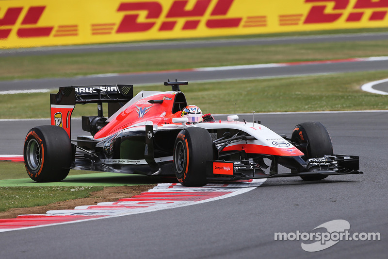 Jules Bianchi, Marussia F1 Team MR03 curva largo
