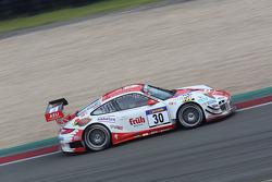 #30 Frikadelli Racing Team Porsche 911 GT3 R: Klaus Abbelen, Sabine Schmitz, Patrick Huisman, Frank