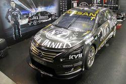 Livrea speciale per la 300a gara della Jack Daniels Racing