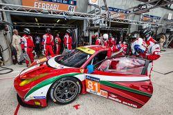 #81 AF Corse 法拉利 458 Italia: 斯蒂夫·怀亚特, 米歇尔·鲁格罗, 山姆·伯德