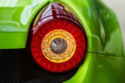 #57 Krohn Racing Ferrari 458 Italia tail light detail