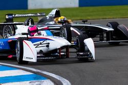 Franck Montagny, Andretti Autosport y Oriol Servia, Dragon Racing