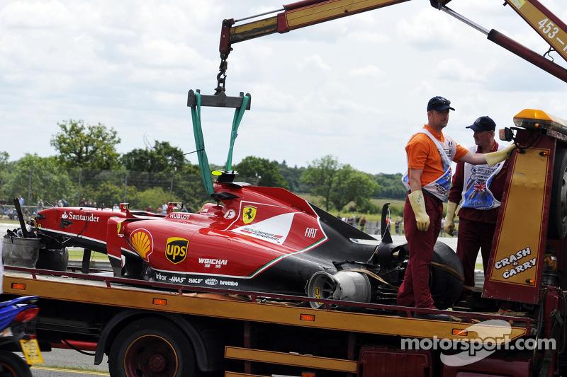 Kimi Räikkönen: Grand Prix von Großbritannien 2014 in Silverstone