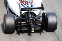 Williams FW36 arka kanat ve arka difüzör