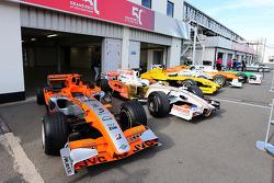 Sahara Force India F1 Takımı ve Jordan araçları koleksiyonu