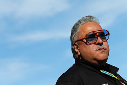 Dr. Vijay Malya, Sahara Force India F1, Teambesitzer