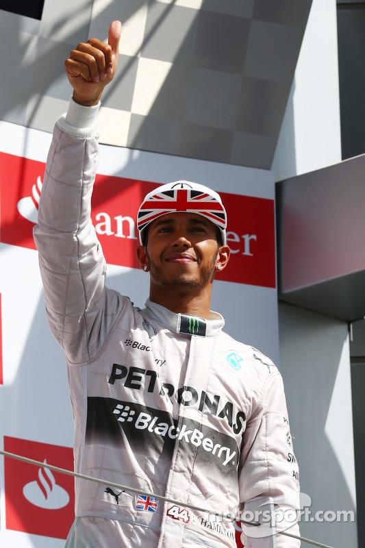 Primeiro lugar: Lewis Hamilton, Mercedes AMG F1