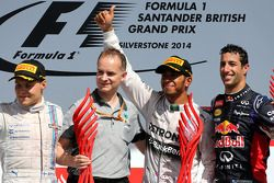 Valtteri Bottas, Williams F1 Takımı, Lewis Hamilton, Mercedes AMG F1 Takımı ve Daniel Ricciardo, Red
