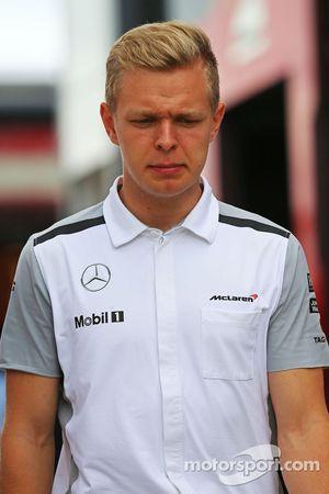 Кевин Магнуссен. ГП Великобритании, Воскресенье, перед гонкой.