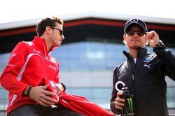 Nico Rosberg, Mercedes AMG F1 Team; Jules Bianchi, Marussia F1 Team