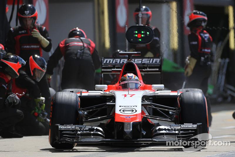 Boxenstopp: Jules Bianchi, Marussia F1 Team