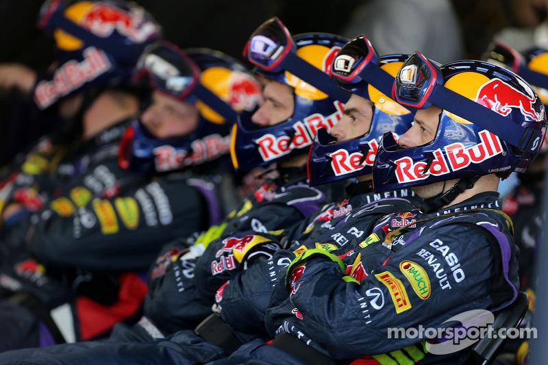 Boxenstopp: Red Bull Racing , Mechaniker