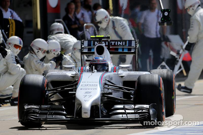 Valtteri Bottas, Williams F1 Team durante pitstop