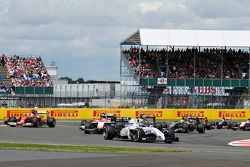 Valtteri Bottas, Williams FW36 yarışın startında
