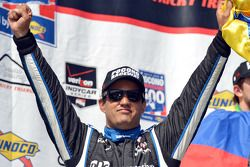 Race winner Juan Pablo Montoya, Team Penske