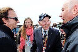 Startaufstellung: John Surtees, Emerson Fittipaldi