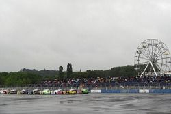 Elite 1 Sunday race starting grid
